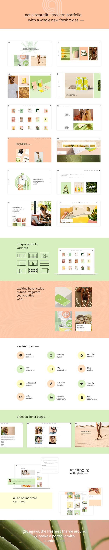Agava - Fresh Design Portfolio Theme - 1