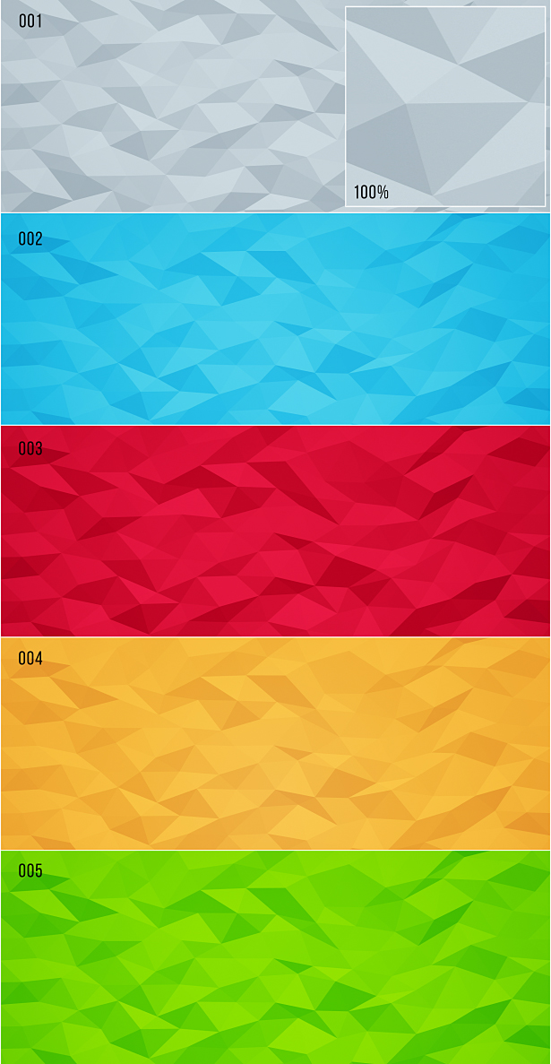 Low Poly Backgrounds 2