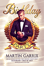 Birthday Party Flyer Template 1 - 11