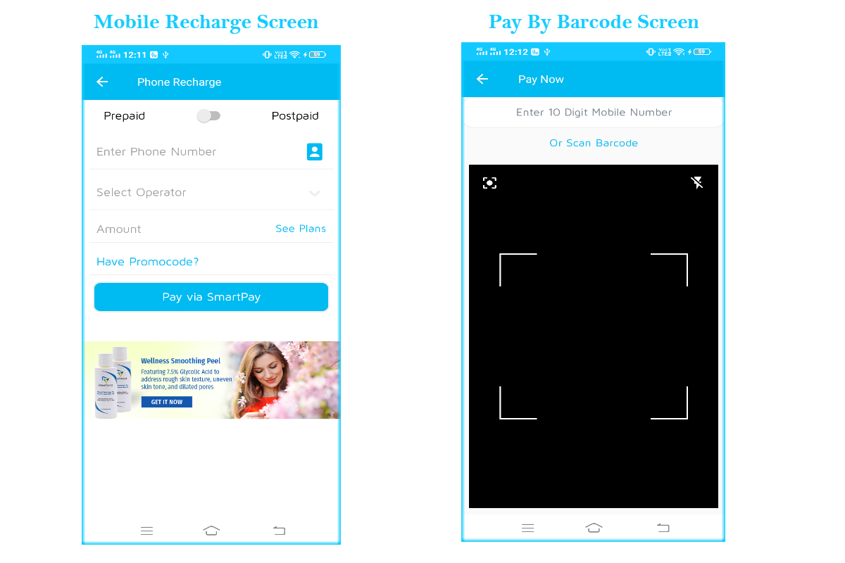 SmartPay Wallet :- Android XML Screens Layout - 8