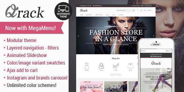 Qrack - Responsive Shopify Theme - Fashion Shopify
