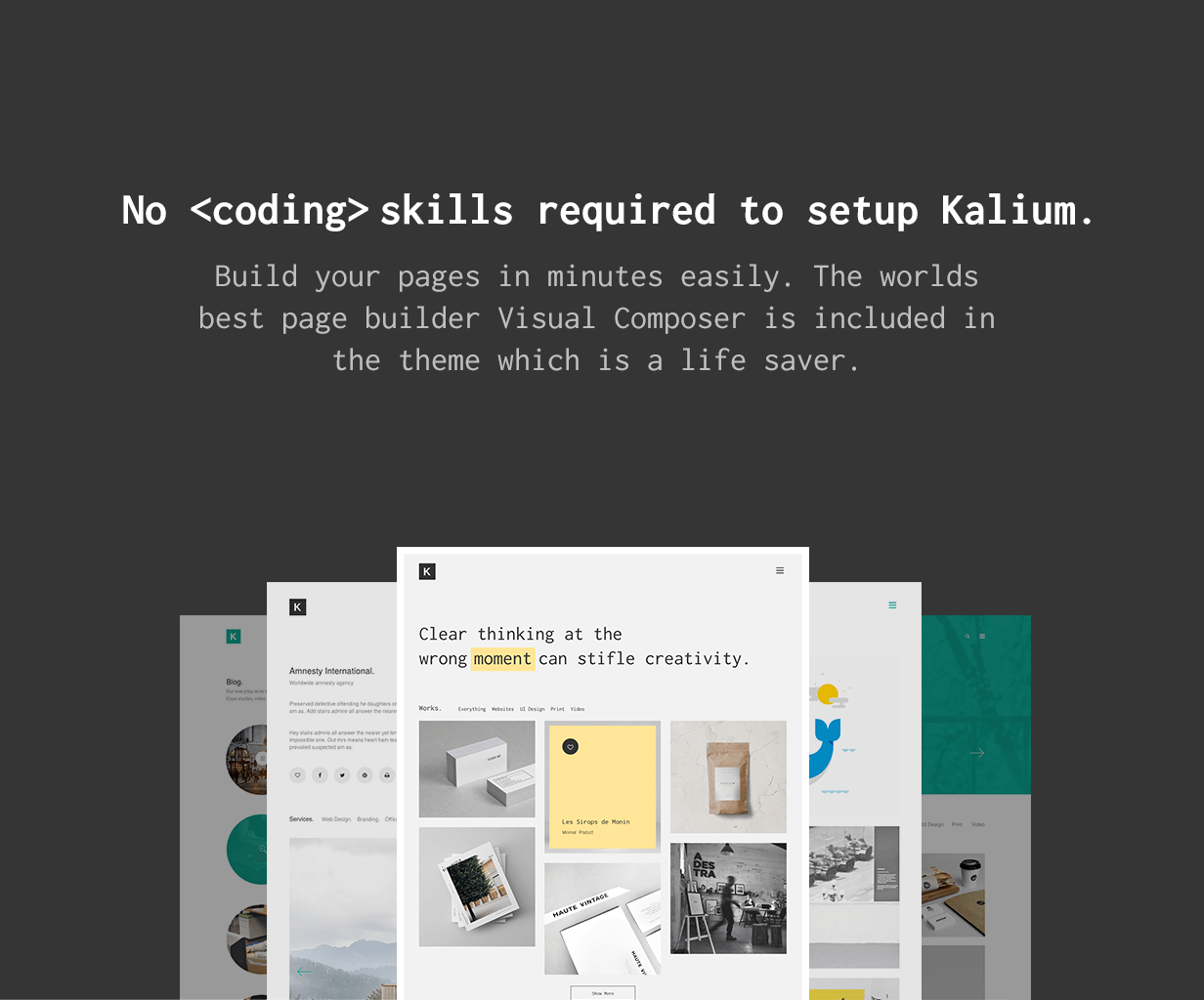 No Coding Skills Required