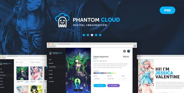 The Bebop Anime and Comic HTML Convention Template - 12