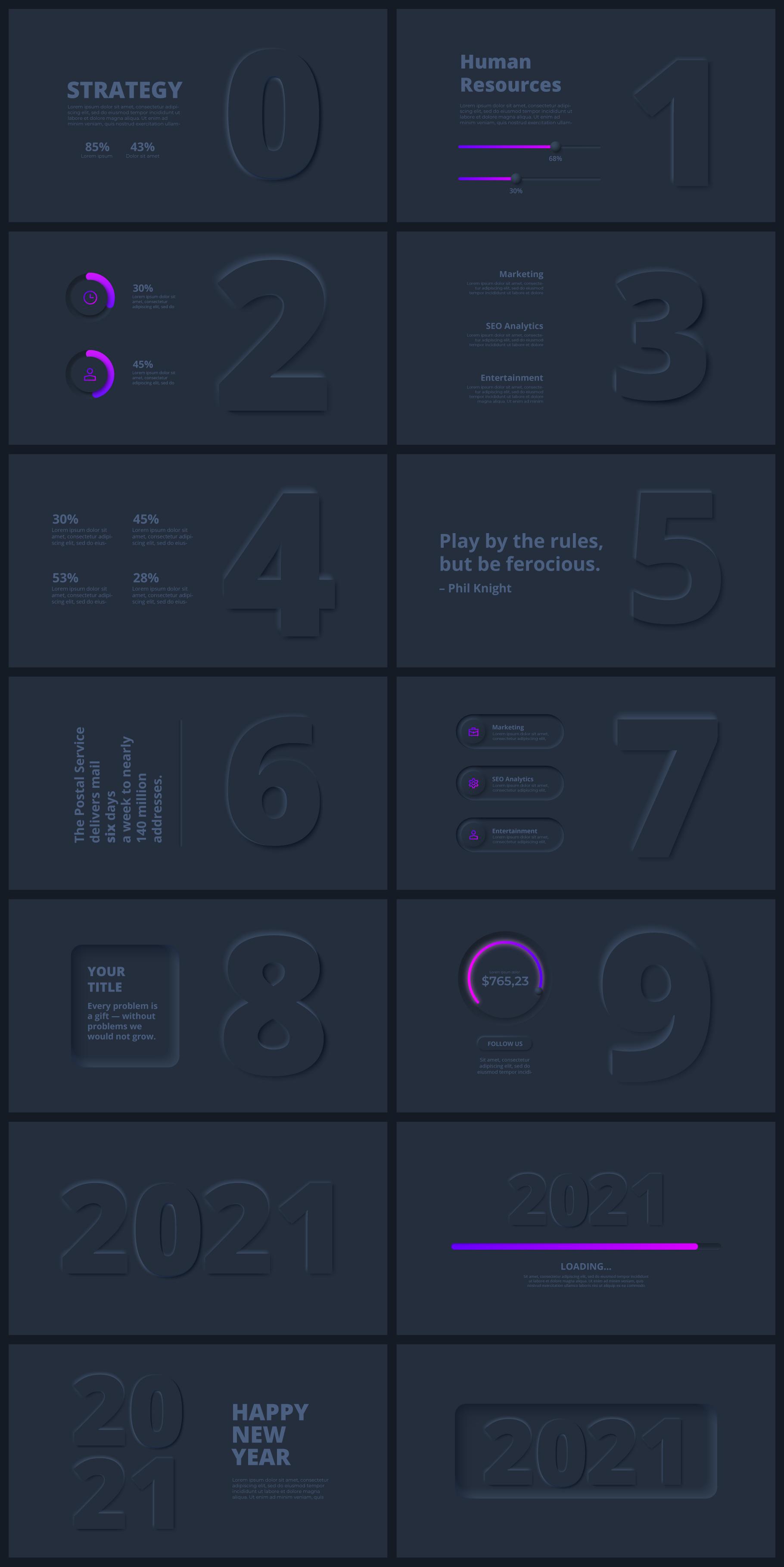 Multipurpose Infographics PowerPoint Templates v.5.0 - 66