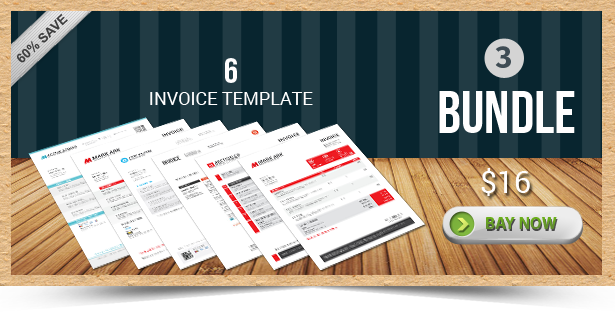 Active Invoice Templates - 3