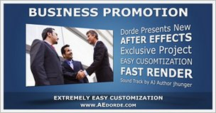 Business Promotion - Text Animations