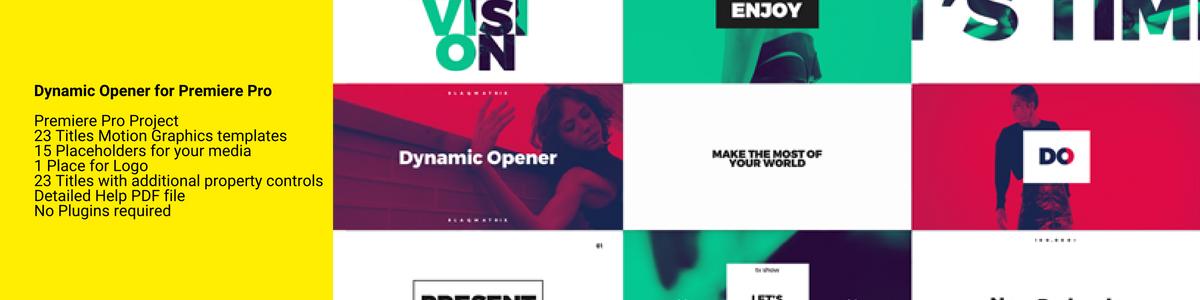 Dynamic Opener - 1
