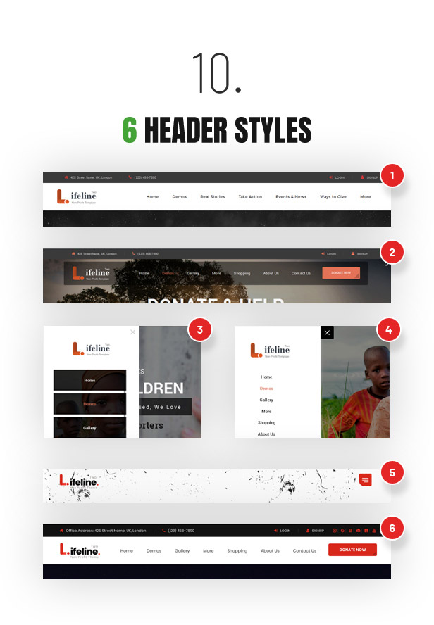 Lifeline 2 - An Ultimate Nonprofit WordPress Theme for Charity, Fundraising and NGO Organizations - 12