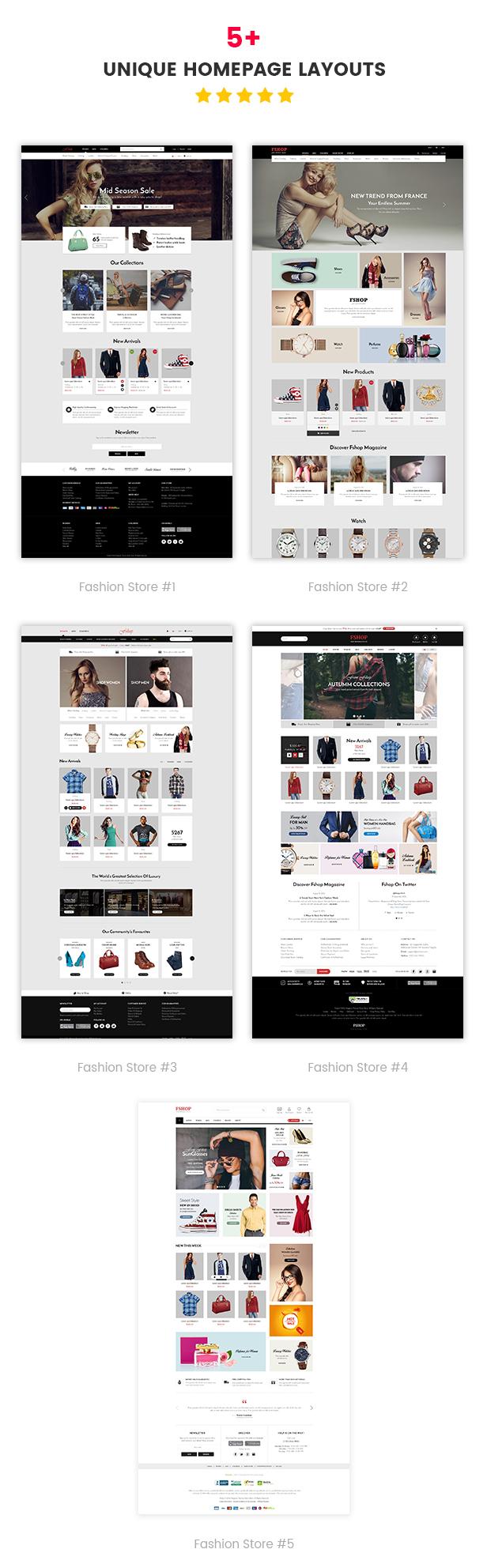Fshop - Homepage