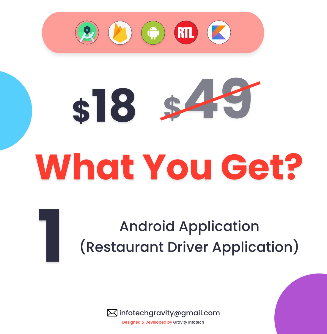 Single Restaurant - Android Delivery boy App - 5