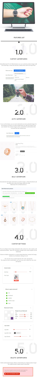 Watermark Pro v1.0.1-WooCommerce全图水印插件插图2
