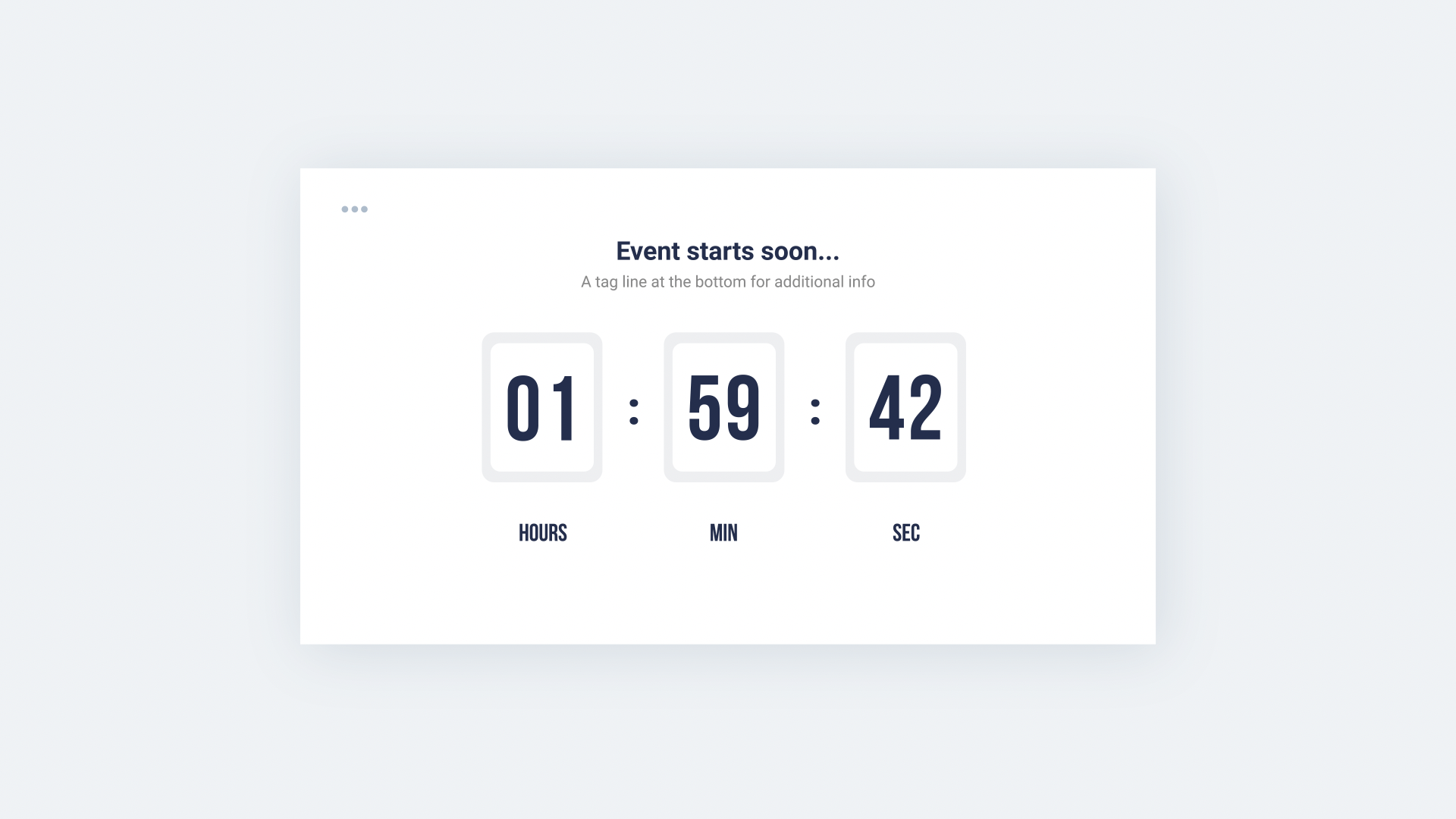 Countdowns & Timers Pack - 29