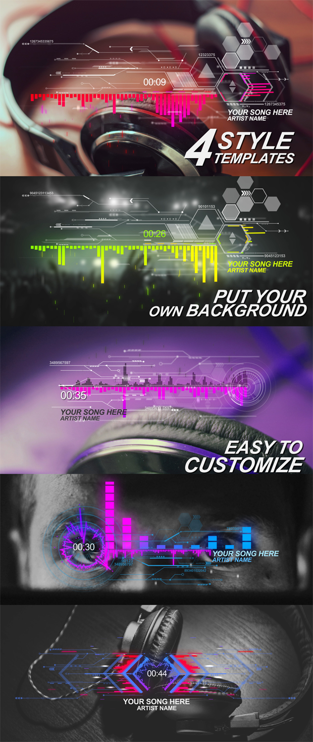 Futuristic Music Visual - 2