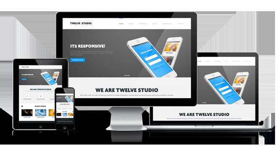 Twelve Studio - Responsive Multipurpose Template - 1