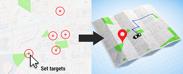 Map Generator with Real 3D Markers by Accountable-Videos