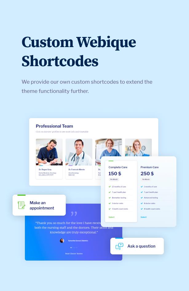 LongLife - Doctor, Health & Medical WordPress Theme - 11