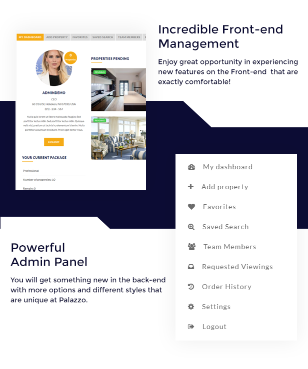 Palazzo - Real Estate WordPress Theme - 3