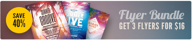 Summer Flyer Bundle Vol 09