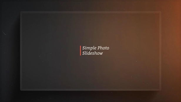 Simple Photo Slideshow