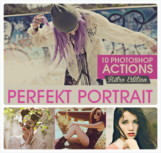 Portrait Actions Bundle - 7