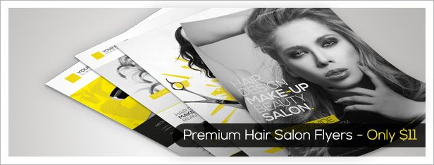Premium Hair Salon Roll-up Banner - 1