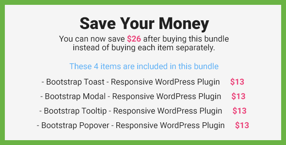 Bootstrap Overlay Components - Responsive WordPress Plugin