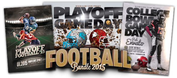 Design Cloud: Football Bundle