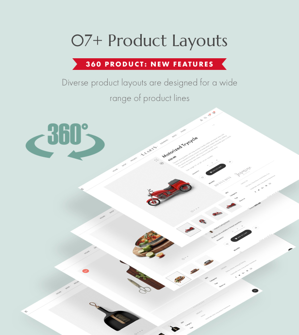 Handmade shop WooCommerce WordPress Theme - Product layouts