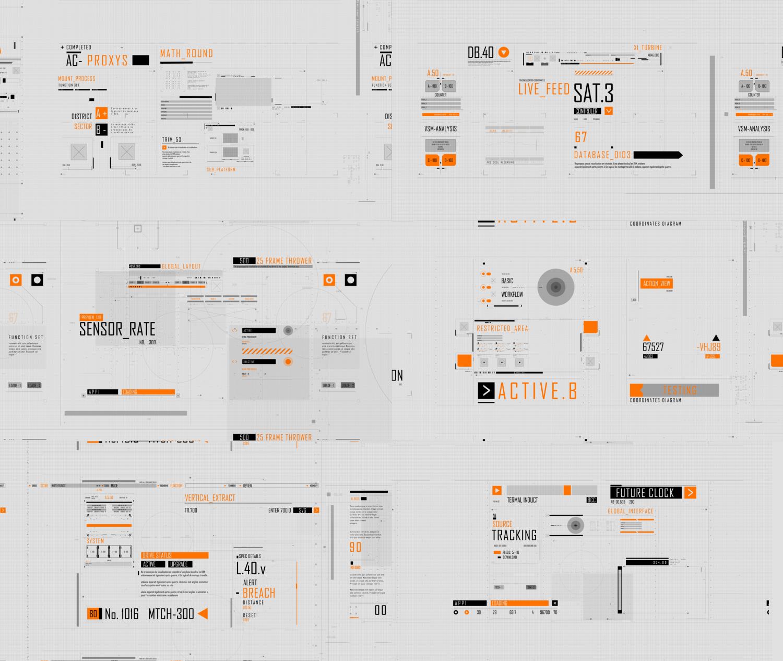 HUD Typography - 3