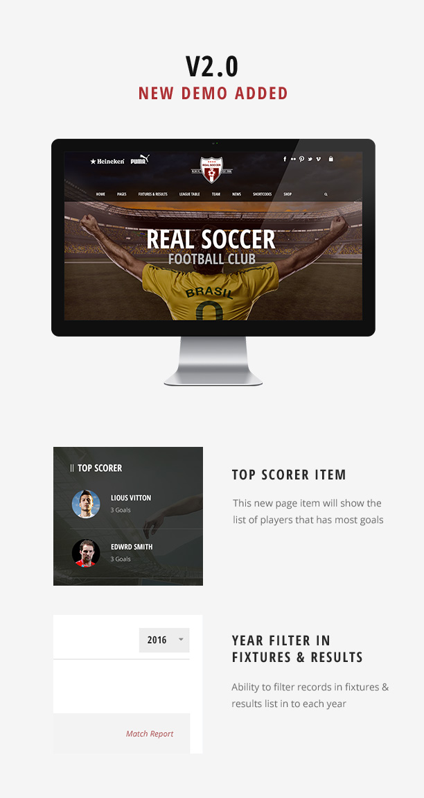 Real Soccer - Sport Clubs WordPress - 2