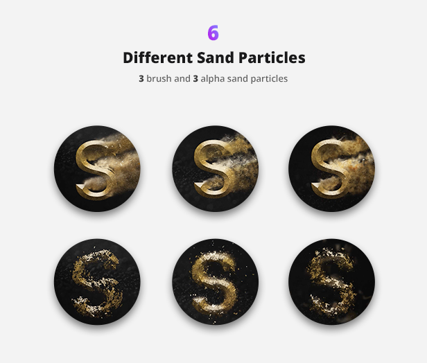 Particle Builder | Sand Pack: Dust Sand Storm Disintegration Effect Vfx Generator - 12