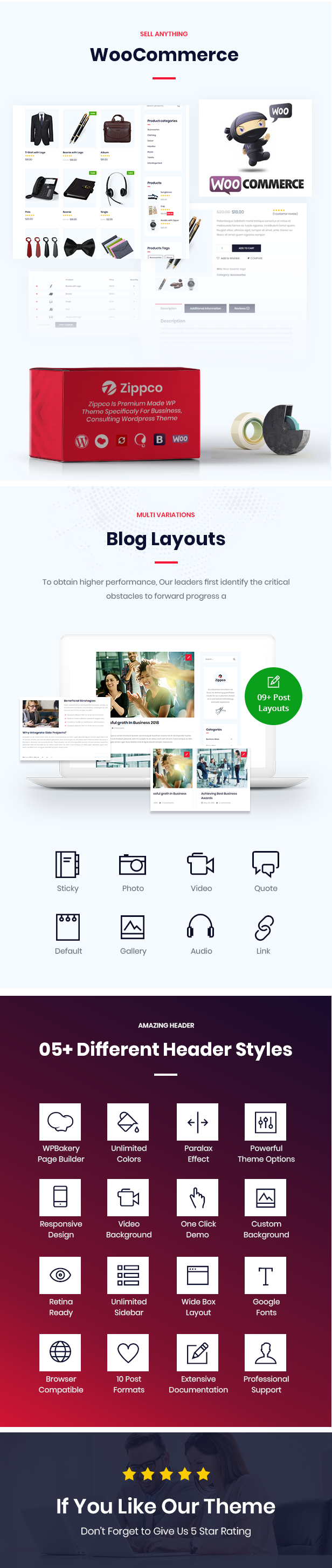 Zippco WordPress Theme