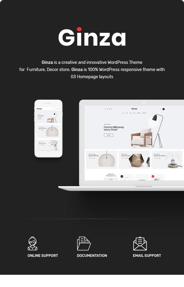Ginza - Furniture Theme for WooCommerce WordPress 22