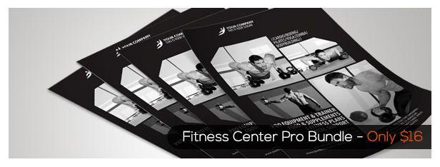 Fitness Center Brochure Tri-fold - 1