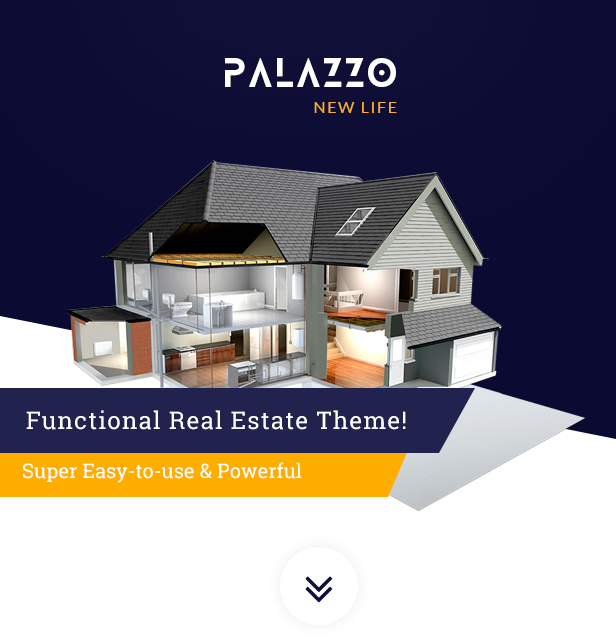 Palazzo - Real Estate WordPress Theme - 1