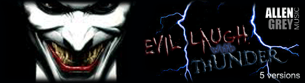 Evil Laugh & Thunder Ident by AllenGrey | AudioJungle
