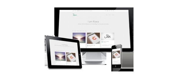 Rawa - Clean / Responsive / Minimal / HTML5 - 2