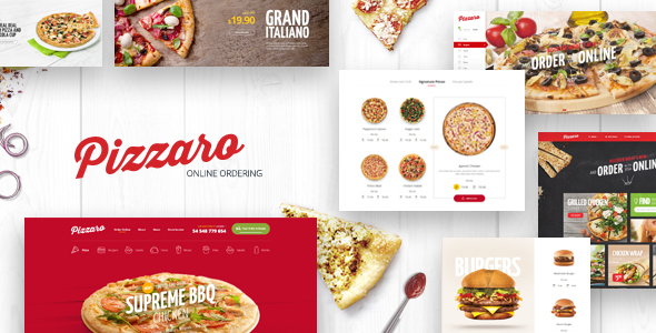 Pizzaro - Food Responsive Magento 1 & 2 Theme