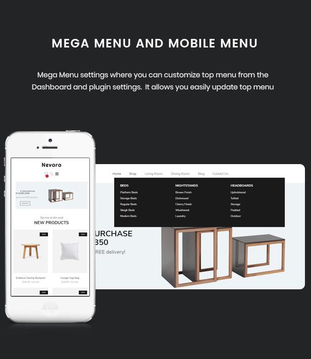 Nevara - Furniture Theme for WooCommerce WordPress 39