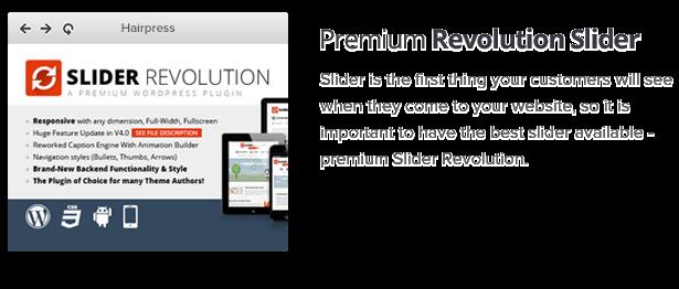 Premium Slider Revolution