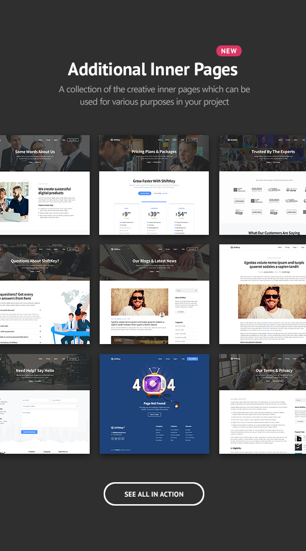 ShiftKey - Landing Pages WordPress Theme - 2