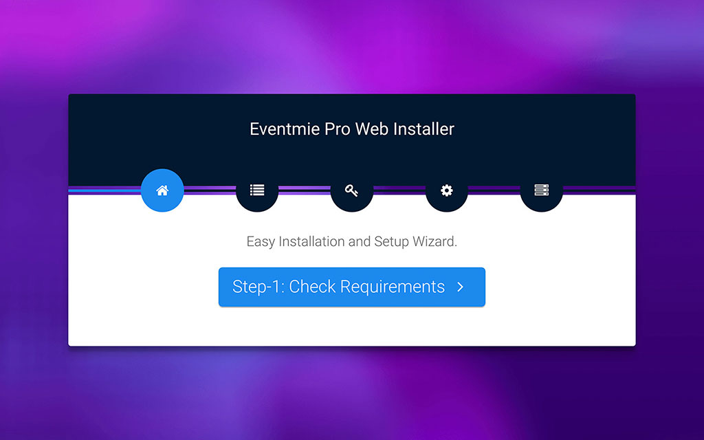 eventmie-Or. Install via Installer