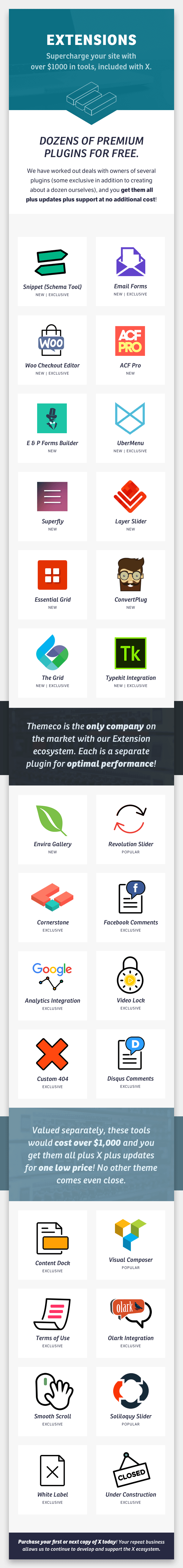 X   The Theme by THEMECO   ThemeForest