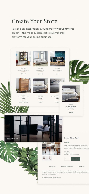 Decorazzio Interior Design And Furniture Store Wordpress Theme