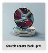 Ceramic Coaster Mock-up v5 - 1