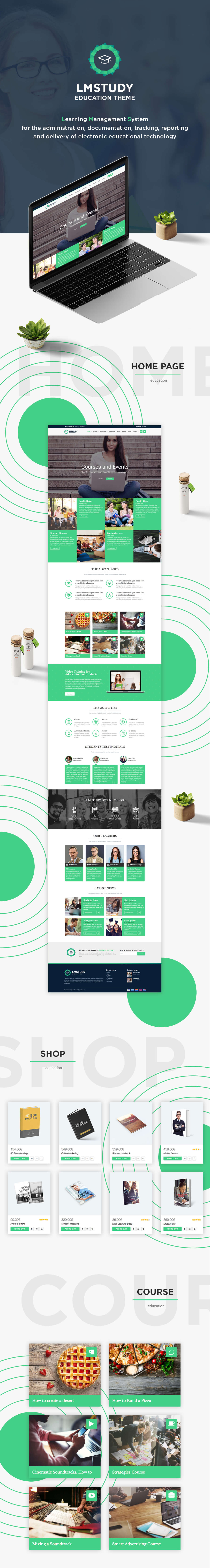 LMStudy - Course / Learning / Education LMS WooCommerce Theme - 1
