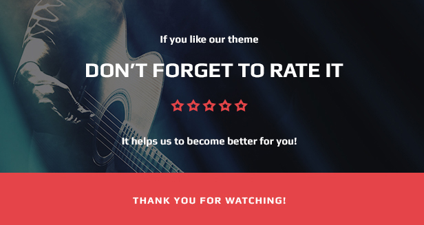 Music Band & Musician WordPress Theme