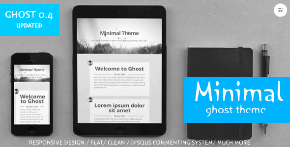 Blogging Story Responsive Ghost Theme - 2