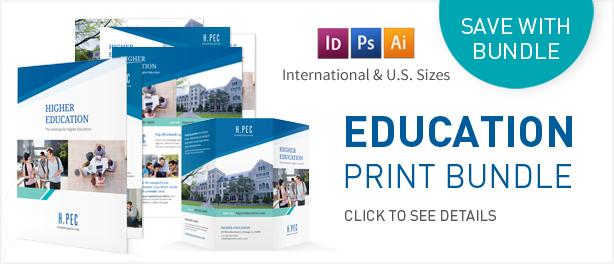 Education Bifold / Halffold Brochure - 1