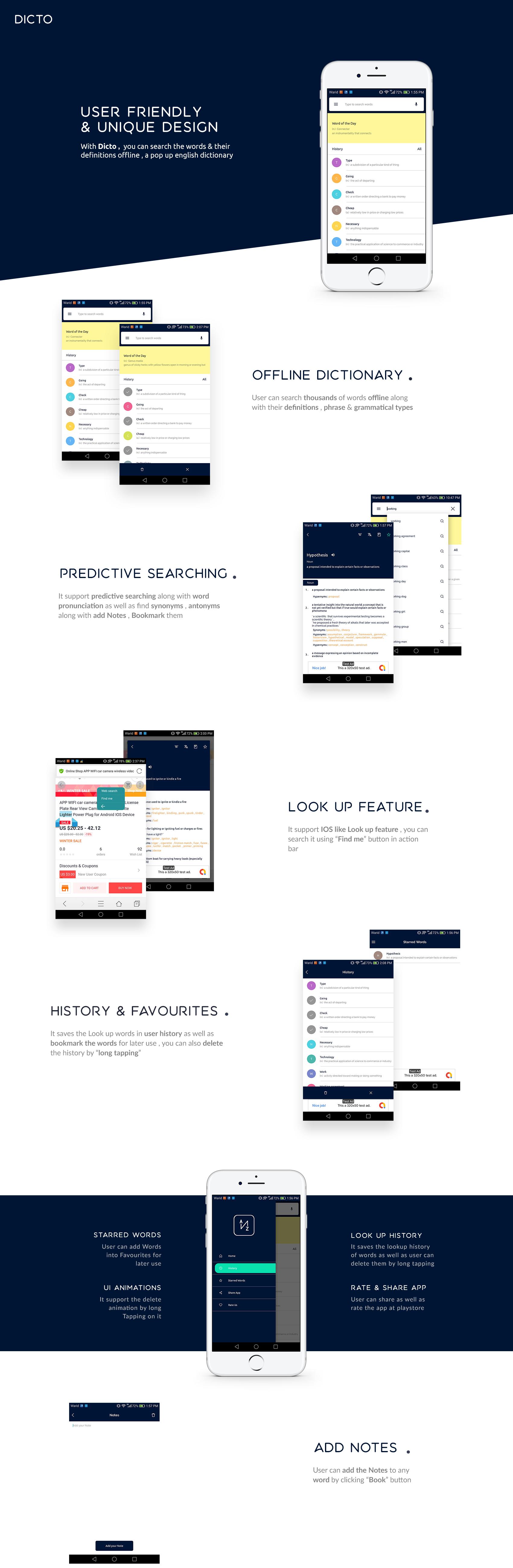 Dictionary Website
